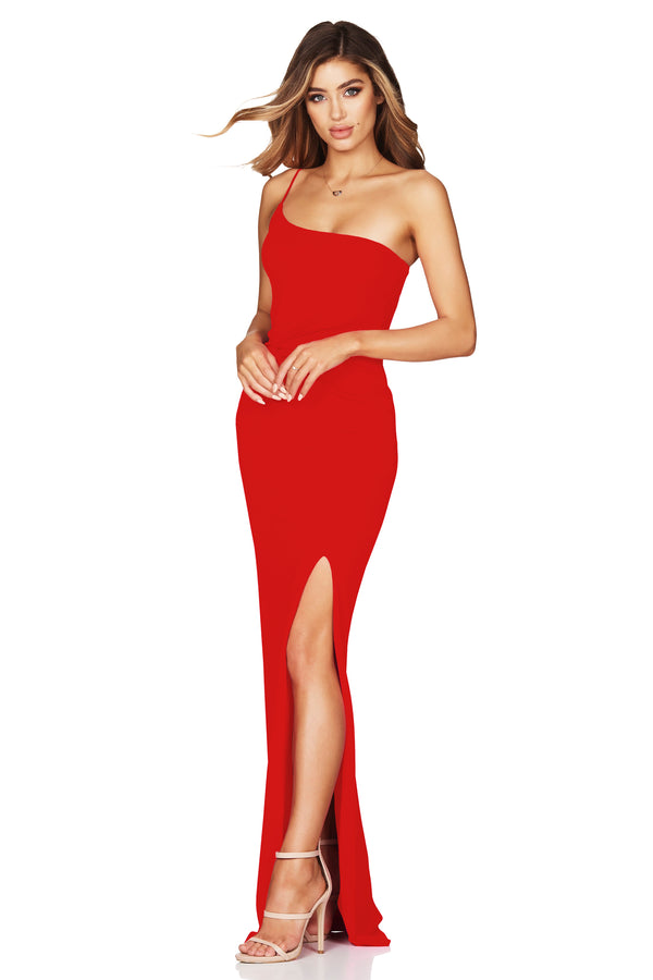 Red Lust One Shoulder Gown | Nookie the Label
