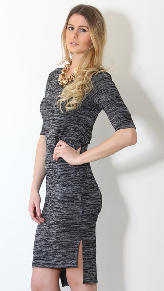 Love Letter Midi in Black by Madison Square Clothing