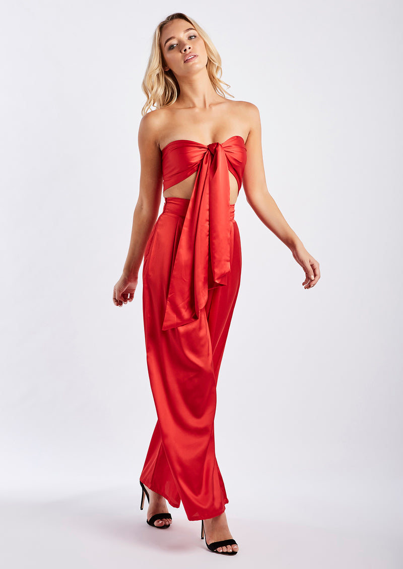 La Vida Set in Red by Luxe Fashion Label