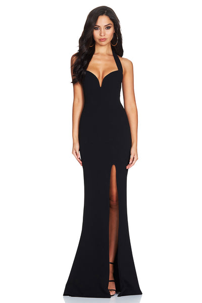 Madonna Gown in Black by Nookie