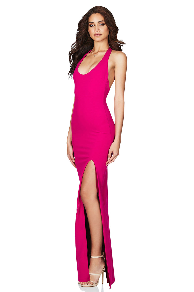 Passion Gown in Hot Pink by Nookie