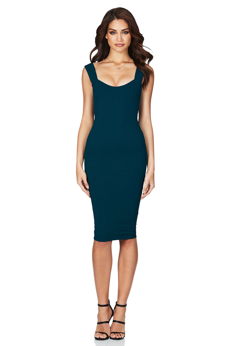 Passion Midi in Teal by Nookie