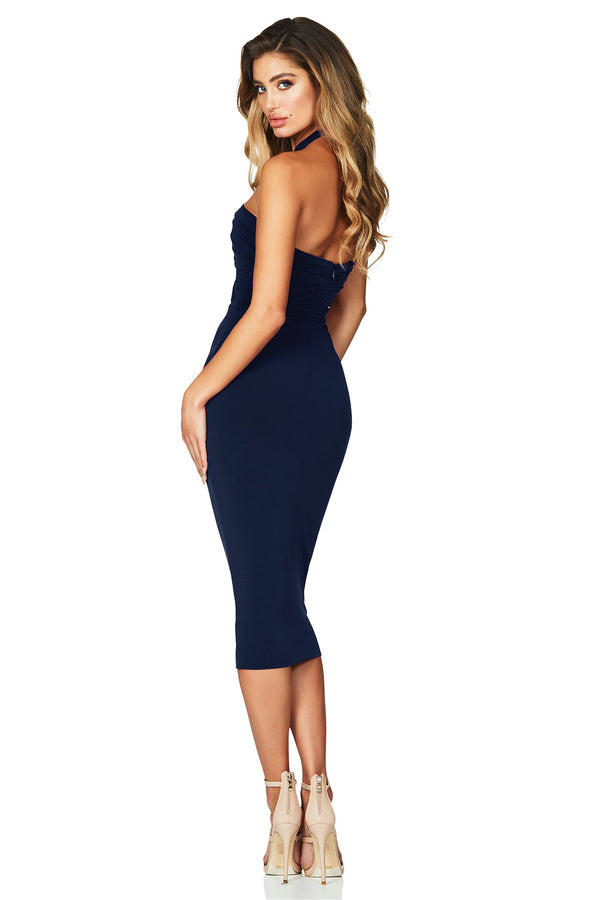 Ravish Midi in Navy by Nookie