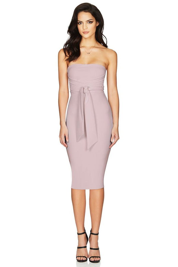 Dusty Pink Royal Midi