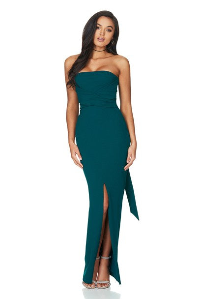 Royal Gown in Teal by Nookie