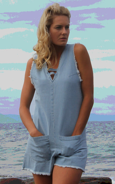 Summer Fling Romper by Madison Square Clothing
