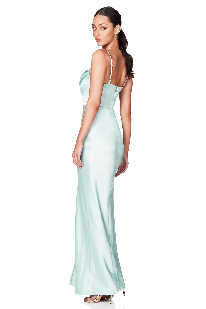 Dream Draped Gown | Mint | Dress | MADE in Australia by Nookie the Label
