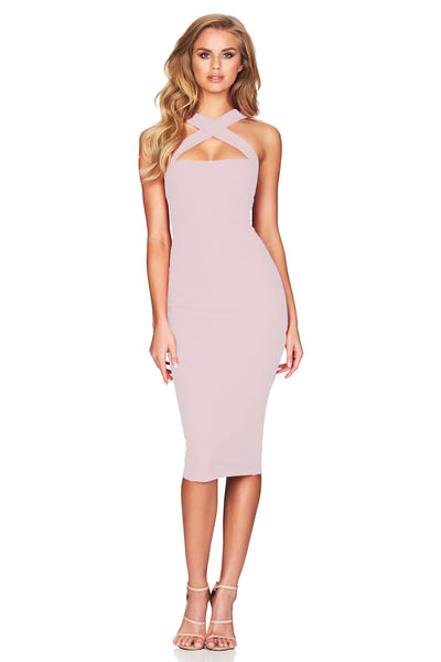 Viva 2 Way Midi in Dusty Pink by Nookie