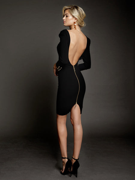 Larissa Dress in Black by DUKE n co