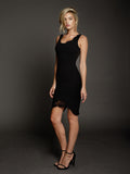 Duke n Co dress, side view of the Blaire Dress in black.