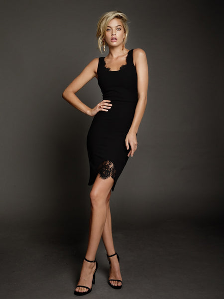 Blaire Dress in Black by DUKE n co