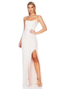 Zahara Gown | White | Dress | MADE in Australia by Nookie the Label