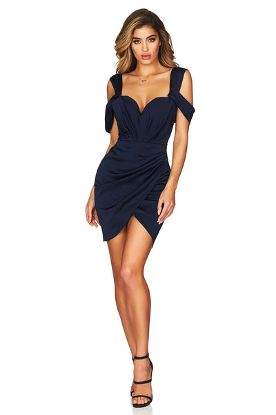 Zodiac Mini Dress in Navy by Nookie