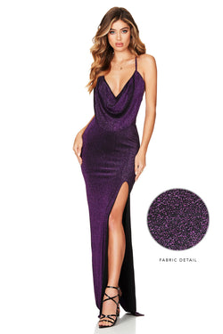 Electric Purple Dreamlover Gown | by Nookie the Label