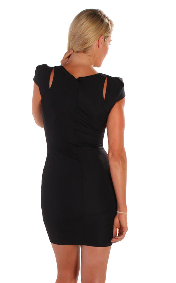 Inception Dress in Black by Electric Honey