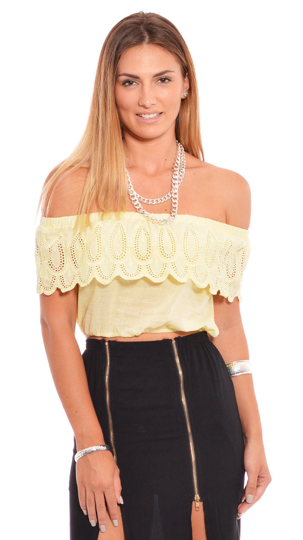 Summer Luvin Top in Yellow