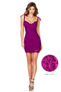 Electric Purple Romance Mini Dress | Nookie the Label