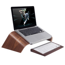 Load image into Gallery viewer, Wooden Laptop Stand