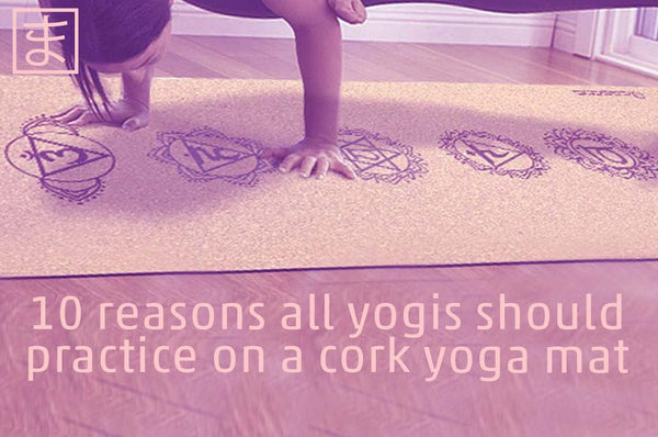 The benefits of a cork yoga mat