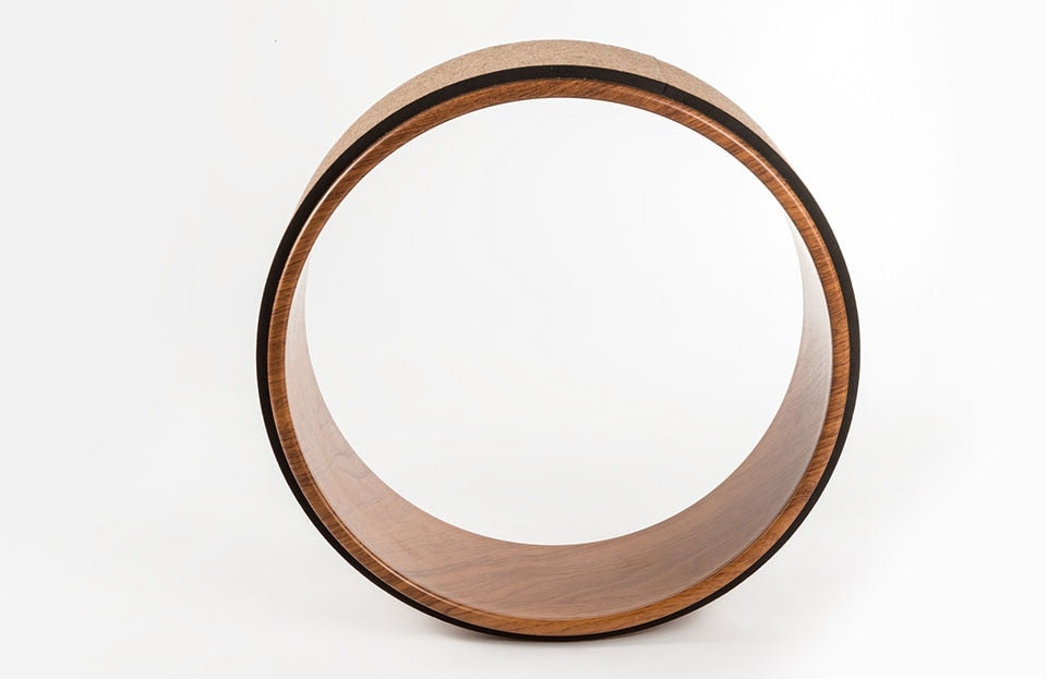 Wooden Yoga Wheel
