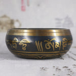 Load image into Gallery viewer, Tibetan Buddhist Singing Bowl With Symbols