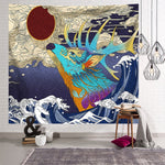 Load image into Gallery viewer, Japanese Culture Wall Tapestry
