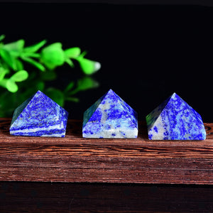 HongJinTian 6 Sided Prism Style Clear Natural Quartz Crystal