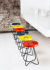 Button stool - Grey