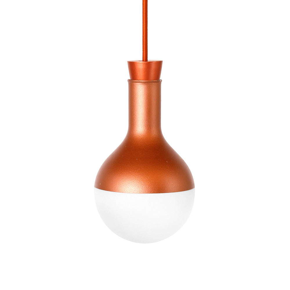 Flasklight Pendant - Copper (round)