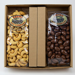 Giant Cashews & Chocolate Almonds 2 Pack Gift Box - 202