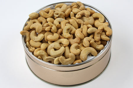 Giant Cashews Tin 24 oz. SALTED