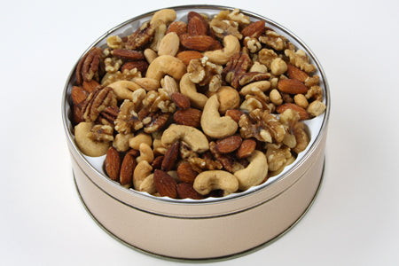 Gourmet Mixed Nuts Tin 24 oz. SALTED - 24TM
