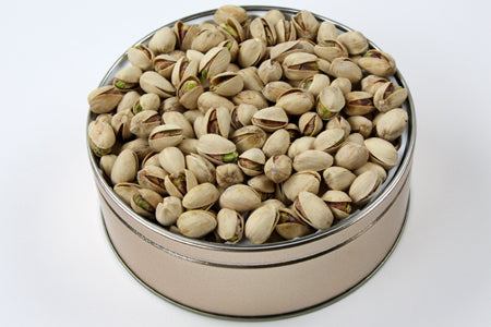 Colossal Pistachios Tin 20 oz. SALTED