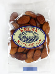 Almonds Roasted, No Salt 2 oz Bag. Case of 24 Bags