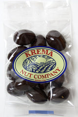 Dark Chocolate Toffee Almonds 2 oz. Bag. Case of 24 Bags