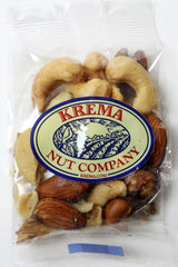 Gourmet Mixed Nuts Roasted, No Salt 2 oz. Bag. Case of 24 Bags