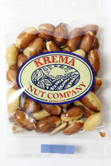 Redskin Peanuts, Roasted & Salted 2 oz. Bag. Case of 24 Bags