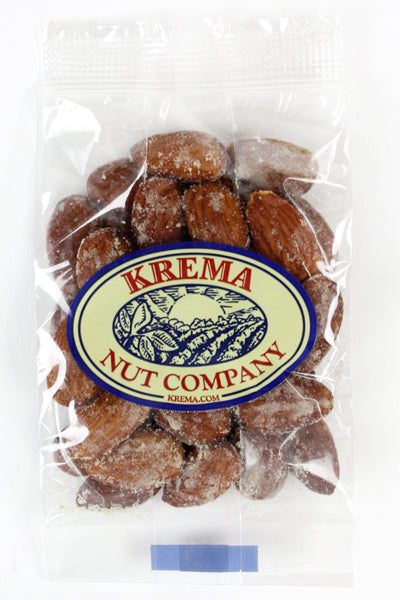 Smoked Almonds 2 oz. Bag. Case of 24 Bags
