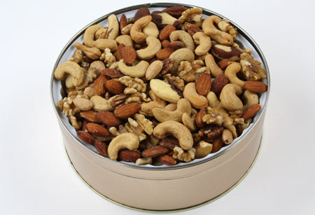 Gourmet Mixed Nuts Tin 40 oz. SALTED - 40TM