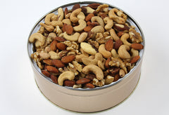 Gourmet Mixed Nuts Tin 40 oz. NO SALT