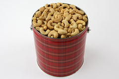 Giant Cashews Tin 72 oz. NO SALT
