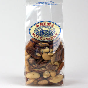 Gourmet Mixed Nuts, Roasted & Salted 7 oz. Bag. Case of 24 Bags