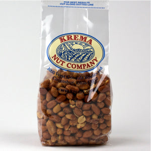Spanish Peanuts, Roasted & Salted 7 oz. Bag. Case of 24 Bags