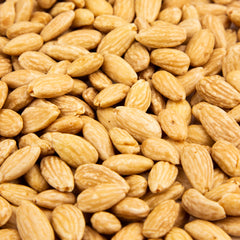 Almonds Blanched Roasted, No Salt - 10 LB. Case