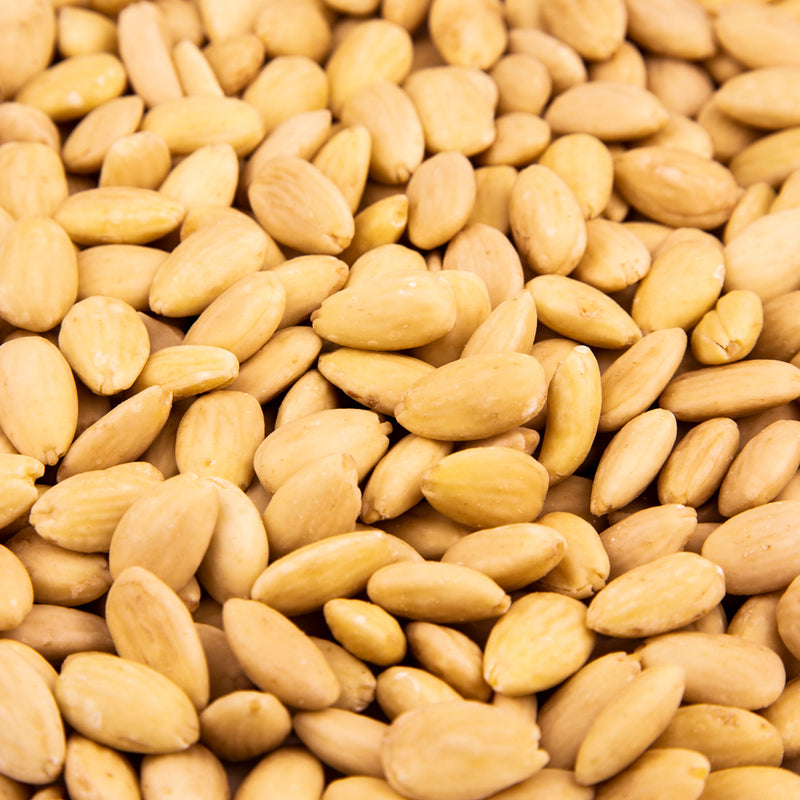 Almonds Blanched, Raw - 10 LB. Case