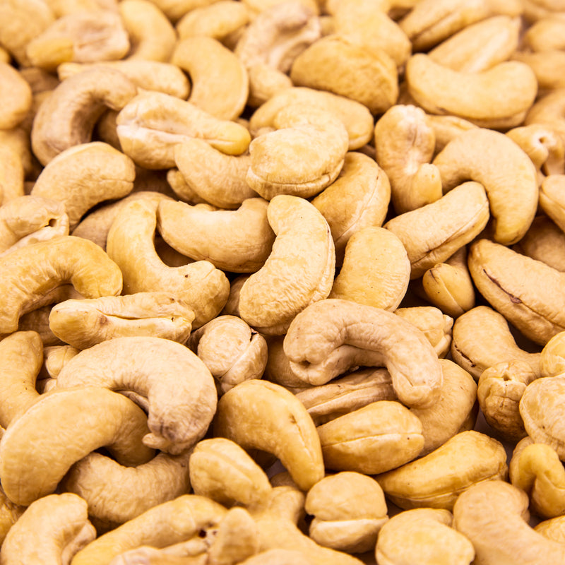 Giant Cashews, Raw - 10 LB. Case