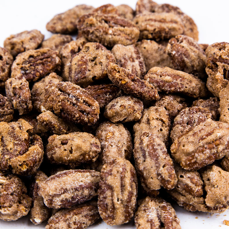 Cinnamon Pecans 8 oz. Bag