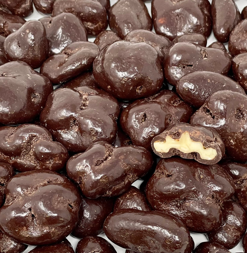 Dark Chocolate Walnuts 8 oz. Bag