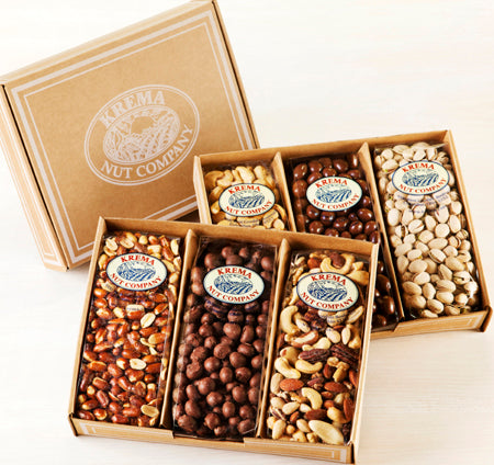Redskin Peanuts, Chocolate Peanuts, Gourmet Mixed Nuts 3 Pack Gift Box - 301