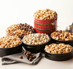 Gourmet Mixed Nuts Tin 72 oz. NO SALT